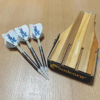ダーツ 木製ケース セット ユニコーン 女性用(ダーツ)