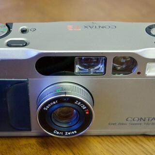 キョウセラ(京セラ)のContqx T2データバック付き(フィルムカメラ)