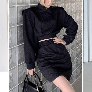 スタイルナンダ(STYLENANDA)のキルティング セットアップ 韓国ファッション(セット/コーデ)