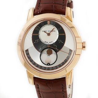 ハリーウィンストン(HARRY WINSTON)のハリーウィンストン  ミッドナイト ムーンフェイズ MIDAMP42PR(腕時計(アナログ))