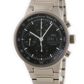 インターナショナルウォッチカンパニー(IWC)のIWC  GST クロノ IW370703 自動巻き メンズ 腕時計(腕時計(アナログ))