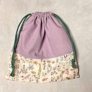 ボンポワン(Bonpoint)の【handmade】巾着袋S(外出用品)