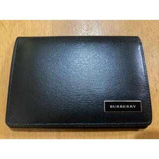 BURBERRY - 【値下げ中】Burberry バーバリー 二つ折り 名刺入れ パスケース