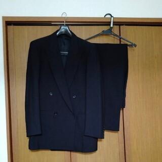 バーバリー(BURBERRY)の【再値下げ】バーバリースーツ セットアップ メンズ 黒無地 175センチ(セットアップ)