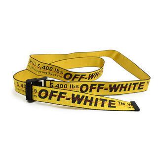 オフホワイト INDUSTRIAL BELT(ベルト)