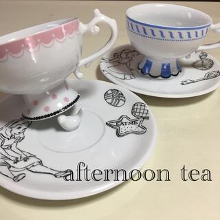 AfternoonTea - afternoon tea  ALICE  不思議の国のアリス カップ&ソーサー