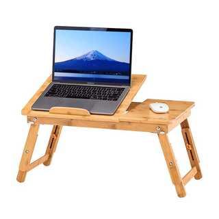 竹製  ローテーブル 折りたたみ式(ローテーブル)