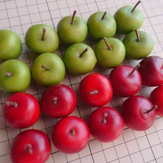 フェイク・フルーツ リンゴ 20個(ドライフラワー)