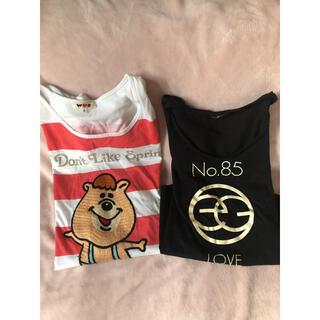 ダブルシー(wc)のwc EGOTIST tシャツ 2枚(Tシャツ(半袖/袖なし))