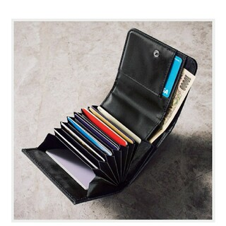 エストネーション(ESTNATION)のエストネーション カードがたっぷり入る蛇腹式ミニ財布(折り財布)