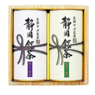 深むし煎茶 緑茶 1缶 (茶)