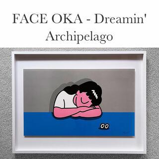 期間限定【即完売数量限定品】FaceOka フェイスオカ 版画 シルクスクリーン(版画)