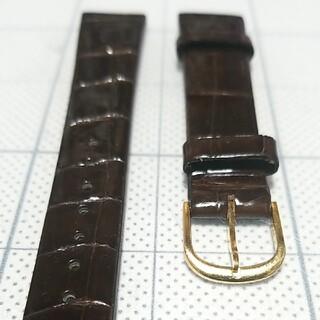 セイコー(SEIKO)のクレドール専用ベルト【クロコ】(レザーベルト)