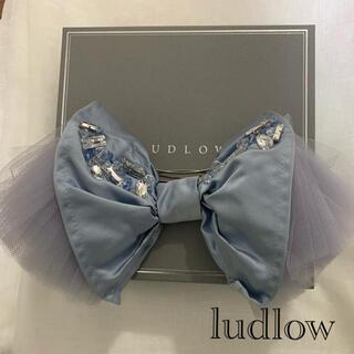 ラドロー(LUDLOW)のludlow  レア BIGヘアバレッタ 箱なし(バレッタ/ヘアクリップ)