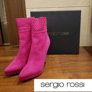 Sergio Rossi - 【美品】Sergio rossi ショートブーツ 36