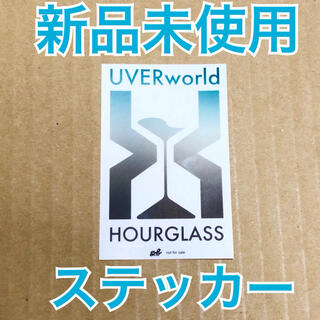 UVERworld HOURGLASS ステッカー(ミュージシャン)