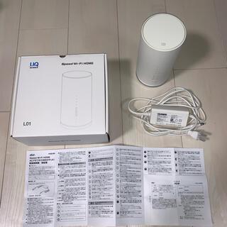 ファーウェイ(HUAWEI)のSpeed Wi-Fi HOME L01(その他)