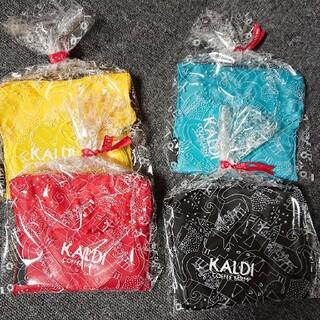 カルディ(KALDI)のエコバック    4枚(エコバッグ)