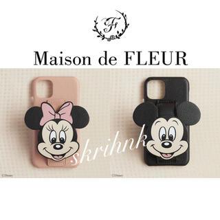 メゾンドフルール(Maison de FLEUR)の♡限定♡メゾンドフルール♡ミニーマウス♡iPhone11ケース♡コラボ♡新品♡(iPhoneケース)