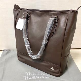 Vivienne Westwood - 新品 Vivienne Westwood アセットレザー縦型トートバッグ