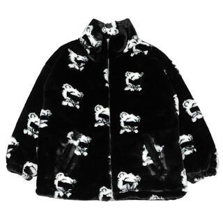 MILKBOY - ランド ベア フラッフィー コート ブラック 黒