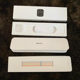 アップル(Apple)のApple Watch SE 40mm 空箱 & スポーツバンド 空き箱(腕時計)