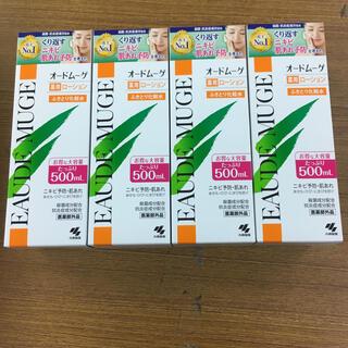 コバヤシセイヤク(小林製薬)のオードムーゲ 薬用ローション(500mL) 4個(化粧水/ローション)