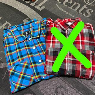 エルアールジー(LRG)のLRG チェックシャツ Mサイズ(シャツ)