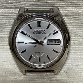 セイコー(SEIKO)のSEIKO セイコー 5 ACTUS 21石 自動巻 7019-8010 稼働品(腕時計(アナログ))
