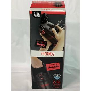 サーモス(THERMOS)のサーモス 水筒 真空断熱スポーツジャグ ブラックレッド 2.5L(その他)