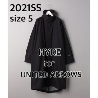 ハイク(HYKE)の【新品 未使用】HYKE for UA PERTEX M65 TYPE 黒 5(モッズコート)