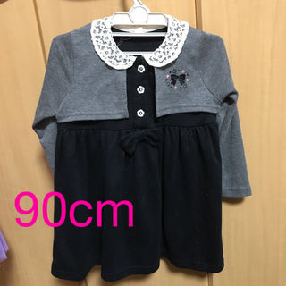 ニシマツヤ(西松屋)のフォーマル女児ワンピース90センチ(ドレス/フォーマル)
