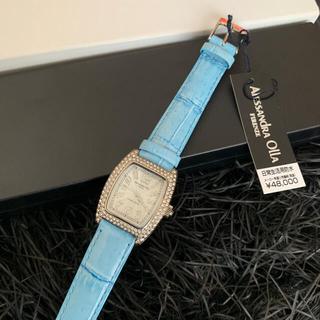 アレッサンドラオーラ(ALESSANdRA OLLA)の【値引‼】アレッサンドラオーラ ♡ 腕時計  新品未使用 電池交換付き(腕時計)