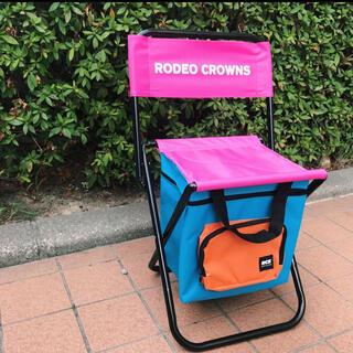 ロデオクラウンズワイドボウル(RODEO CROWNS WIDE BOWL)のロデオクラウンズ ワイドボウル ノベルティ ポータブルチェア(折り畳みイス)