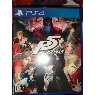 プレイステーション4(PlayStation4)のペルソナ5 ps4(家庭用ゲームソフト)