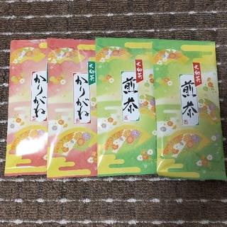 お茶っ葉 4パック(茶)