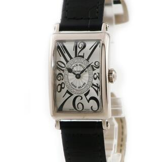 フランクミュラー(FRANCK MULLER)のフランクミュラー  ロングアイランド 902QZCD1R クオーツ レデ(腕時計)