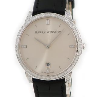 ハリーウィンストン(HARRY WINSTON)のハリーウィンストン  ミッドナイト MIDAHD39WW004 自動巻き(腕時計(アナログ))