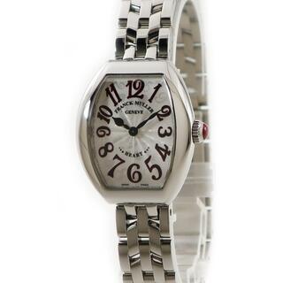 フランクミュラー(FRANCK MULLER)のフランクミュラー  ハートトゥハート 5002SQZJA クオーツ レデ(腕時計)