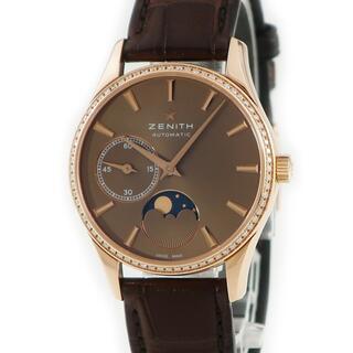 ゼニス(ZENITH)のゼニス  ウルトラシン ムーンフェイズ 22.2310.692/75.C(腕時計)