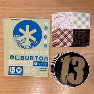 バートン(BURTON)のバートン ステッカー 20枚セット(アクセサリー)