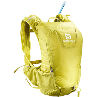 サロモン(SALOMON)のSALOMON サロモン ハイドレーションバック スキンプロ15セット黄色 新品(登山用品)