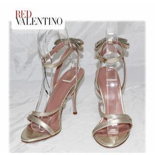 レッドヴァレンティノ(RED VALENTINO)の72,600円新品【RED ヴァレンティノ 】 サンダル パンプス 23.5cm(サンダル)