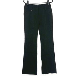 ドルチェアンドガッバーナ(DOLCE&GABBANA)のドルチェアンドガッバーナ パンツ 36 S 黒(その他)