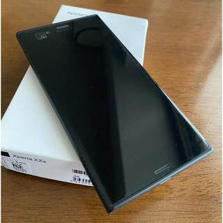 ソニー(SONY)の[美品] Xperia XZs ブラック 602so SIMロック解除済み(スマートフォン本体)