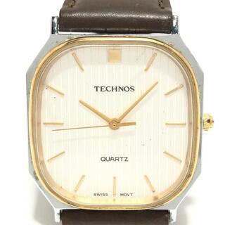 テクノス(TECHNOS)のテクノス 腕時計 - 160060.61 メンズ(その他)