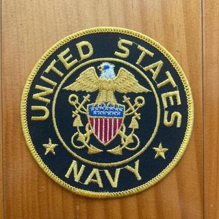 アメリカ海軍 刺繍 ワッペン(その他)