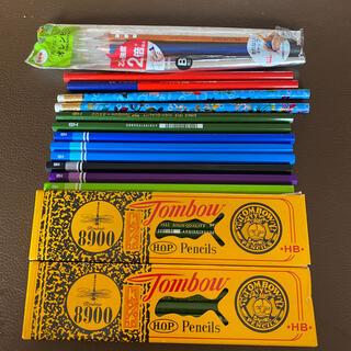 トンボエンピツ(トンボ鉛筆)の鉛筆 HB.B.  赤鉛筆 オレンピツ(鉛筆)