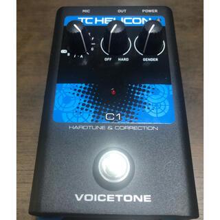 TC Helicon VoiceTone C1 (エフェクター)