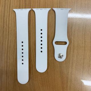 アップルウォッチ(Apple Watch)のApple Watch 純正品 スポーツバンド 42\44mm(ラバーベルト)